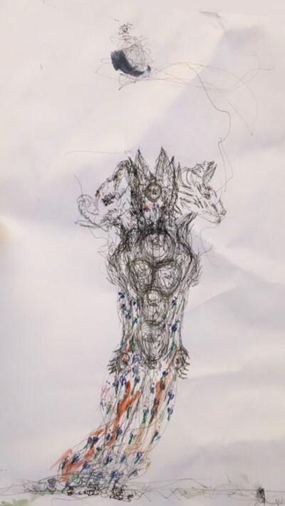 ANURADHA DELACOUR, 'une esprit 3', 2020