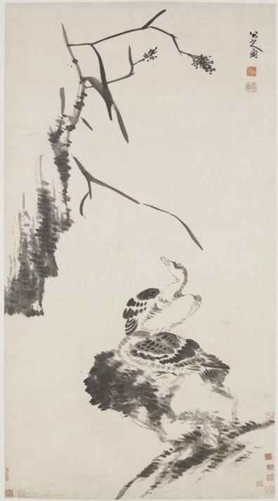 Bada Shanren (Zhu Da) 八大山人 (朱耷), 'Two Geese', Qing dynasty-ca. 1700