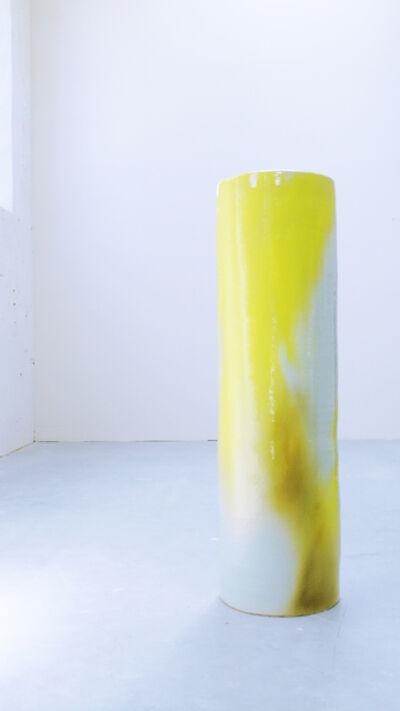 Stefanie Brehm, 'column golden beryl', 2018
