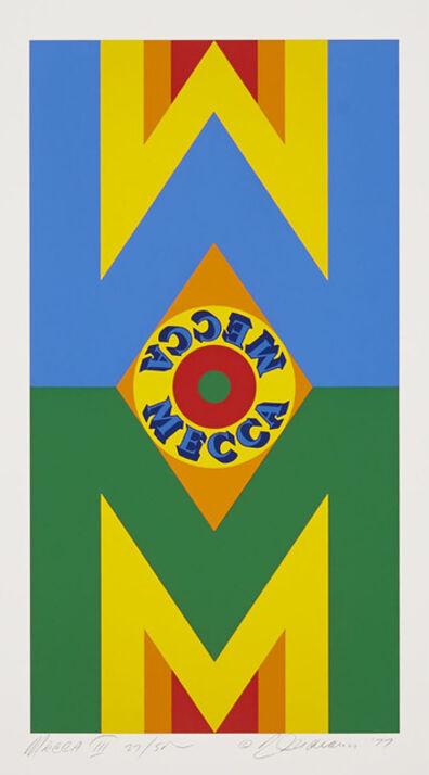Robert Indiana, 'Mecca II; Mecca III (Two From Mecca)', 1977