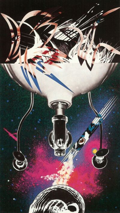 James Rosenquist, 'Where the Water Goes', 1988-1989