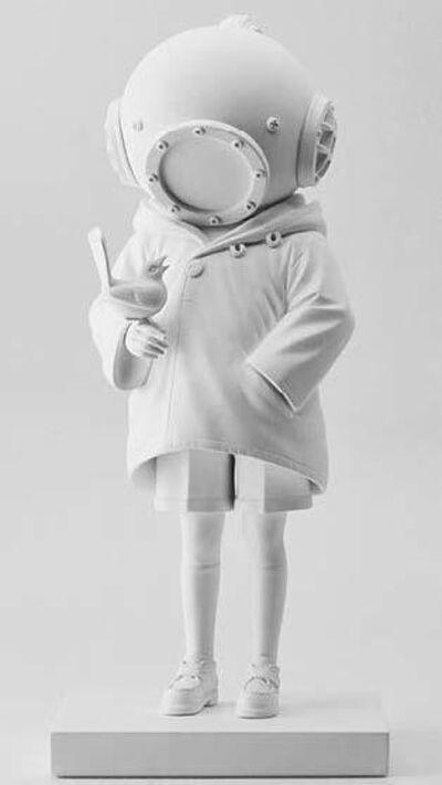 Banksy, 'Zigger brandalised Deep Sea Diver white ver.', 2020