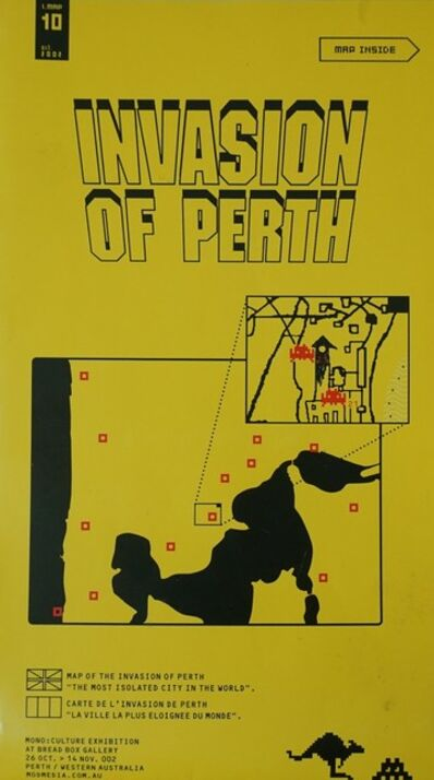 Invader, 'Invasion of Perth', 2002