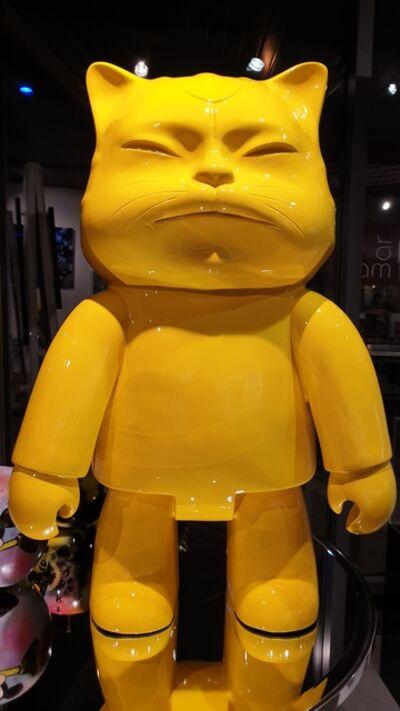 Hiro Ando, 'Robotcat Yellow', 2008
