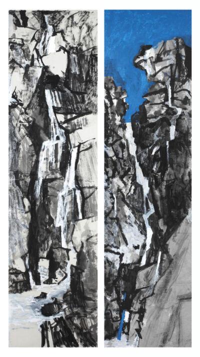 Wang Gongyi, 'Landscape - Water, Rocks 水·石 / Landscape - Sky, Water 天·水', 2018