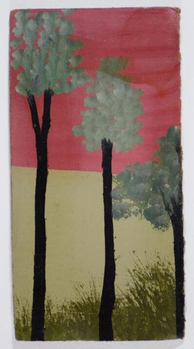 Frank Walter, 'Three Tall Trees and Hurricane Sky'