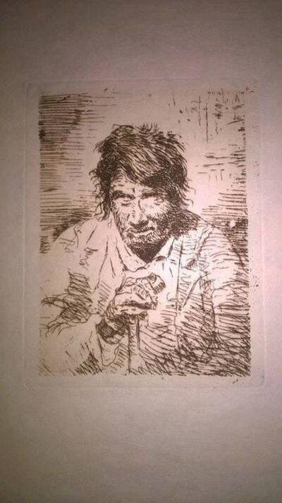Francisco de Goya, 'Le mendiant (The Beggar)', 1895