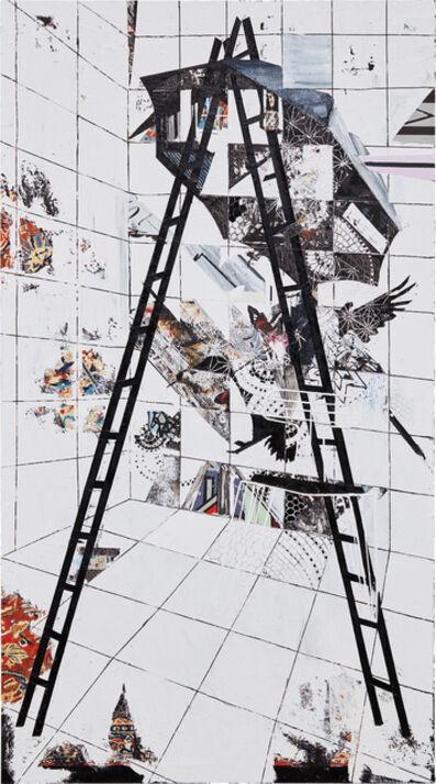 Francesca DiMattio, 'Black Ladder', 2008
