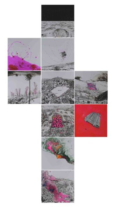Rixin Zhu, 'The Pink Commandments', 2017