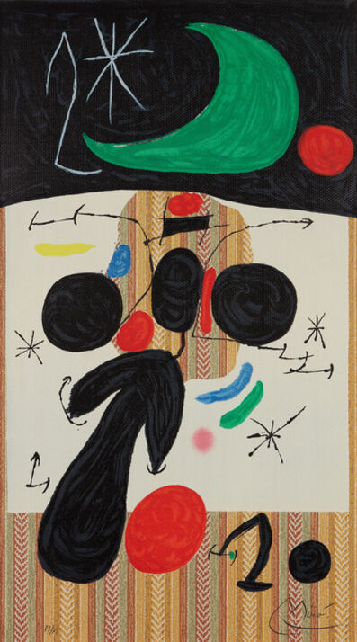 Joan Miró, 'Intérieur et nuit (Interior and Night)', 1969