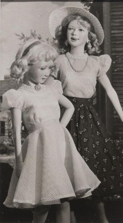Morton Bartlett, 'Untitled (Two Girls)', ca. 1950