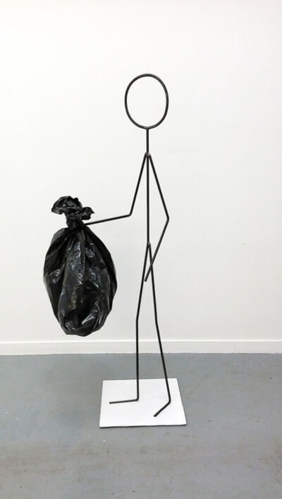 Oscar Figueroa, 'Untitled (Here Is Just Garbage)', 2015