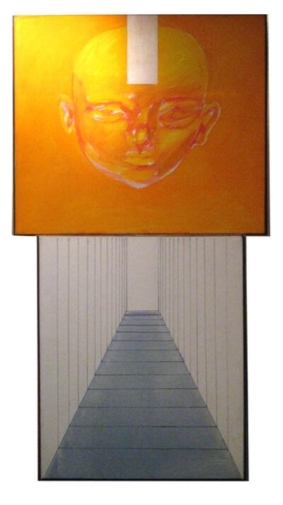 Rómulo Macció, 'Dos atmósferas y un personaje amarillo', 1965