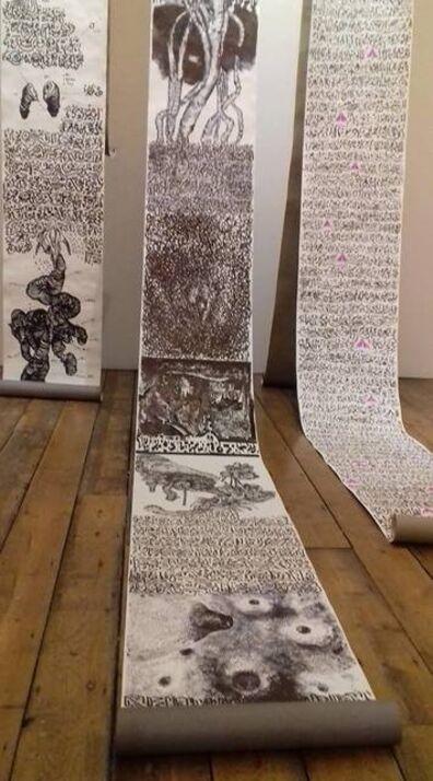 Aïcha Snoussi, 'Undefined scrolls', 2018