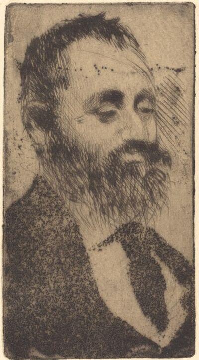 Edgar Degas, 'Alphonse Hirsch', 1875