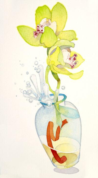 Gary Bukovnik, 'Excited Orchids', 2018