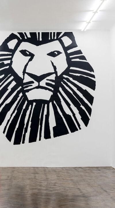 Haim Steinbach, 'the lion king', 2018