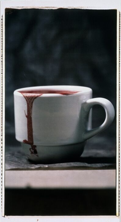 Ulay, 'Not My Cup of Blood (From the Series Long Playing Record)', 1992