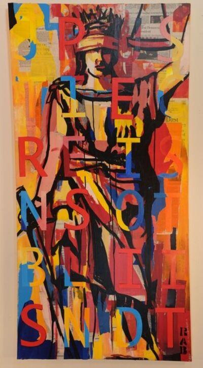 Rachael Bohlander, 'PERSIST (Justice Is Not Blind)', 2017