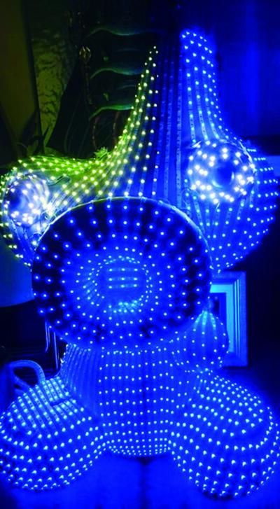 河口洋一郎Kawaguchi Yoichiro, '光點蛋寶寶LED Eggy Boy_玻璃纖維, LED, 感應器FRP, LED, Sensors_90x70x40 cm_', 2017
