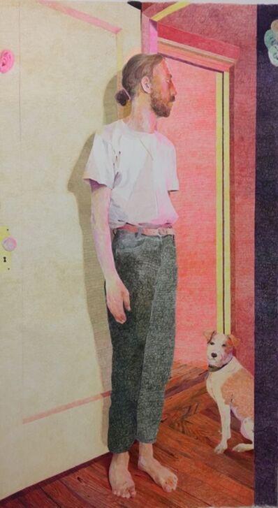 Anthony Cudahy, 'Doorway (Janus ears and dog)', 2021