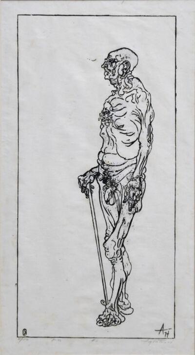 Peter Agostini, 'Studies in Ageing Apollo's #1', 1974