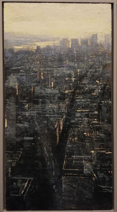 ALEJANDRO QUINCOCES, 'Vista de NY hacia el oeste', 2019