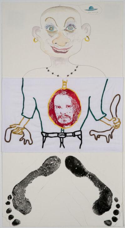 William Wegman, 'Exquisite Corpse 105', ca. 2011