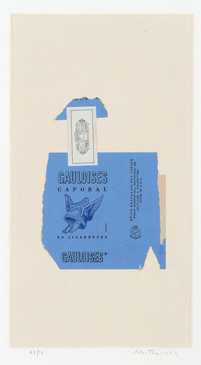 Robert Motherwell, 'Gauloises Bleues (Engberg/Branach 59)', 1968