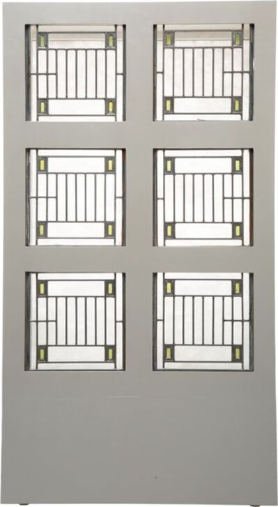Frank Lloyd Wright, 'Six Skylight Windows from the Avery Coonley House, Riverside, Illinois', 1912