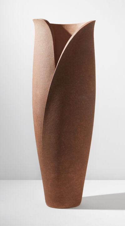 Monica Young, 'Tall coiled pot', circa 1985