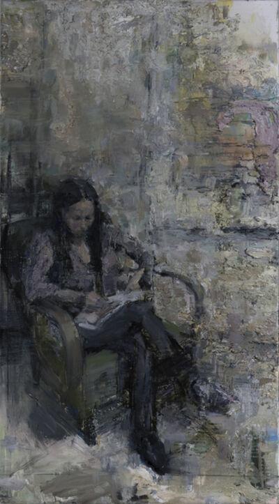 Tibor Simon-Mazula, 'Studio Night', 2019