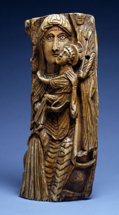 'Virgin and Child', 7th-8th century