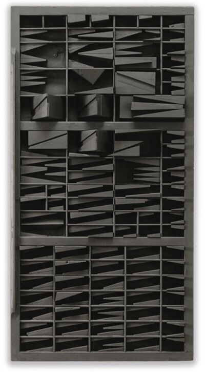 Louise Nevelson, 'End of Day XXI', 1972