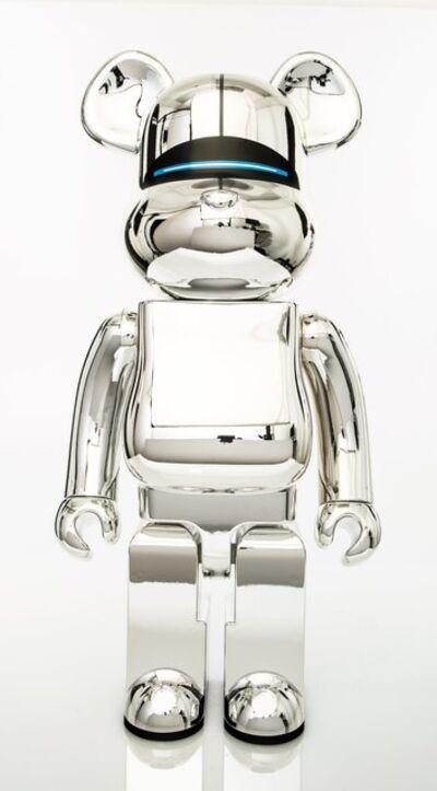 BE@RBRICK X XLARGE X Hajime Sorayama, 'Robot (Silver)', 2018