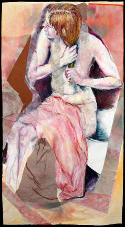 AJ Nadel, 'After the Bath 3, Wringing Hair', 2012