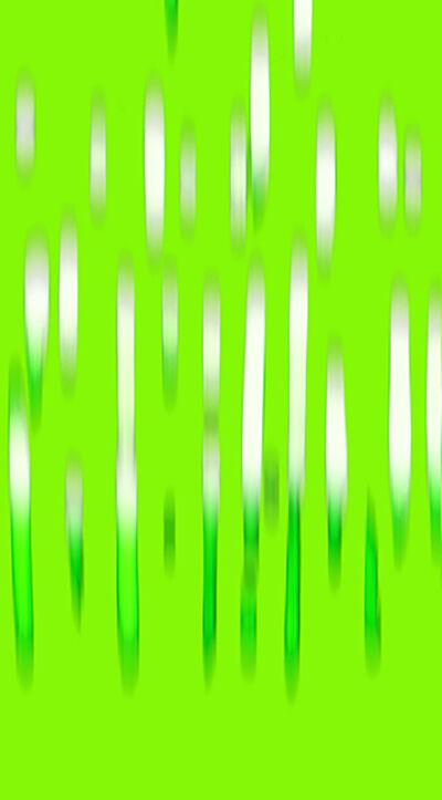 John Pomara, 'Lime-Green Rain', 2018