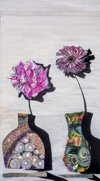 Carroll Swenson-Roberts, 'Two Flowers', 2018