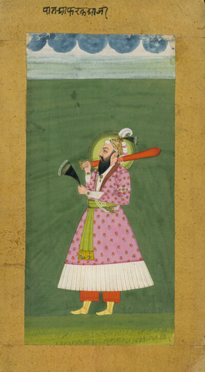 India, Mewar, 'Portrait of Farooq Shah', 19th century