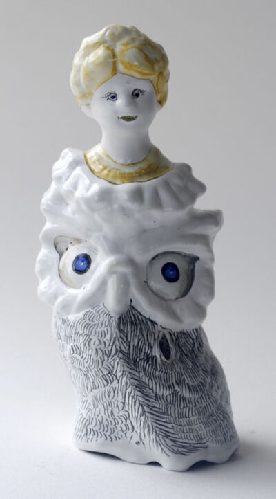 Claire Cowie, 'Owl Lady with Yellow Hair', 2009