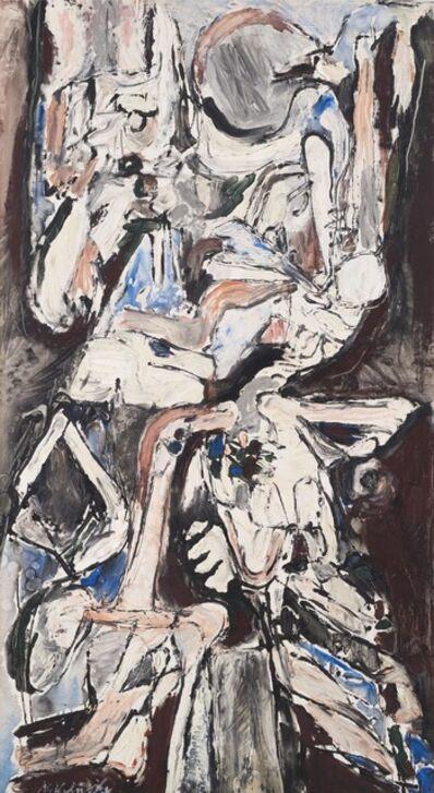 Pierre Alechinsky, 'Les Deux Etages', 1959