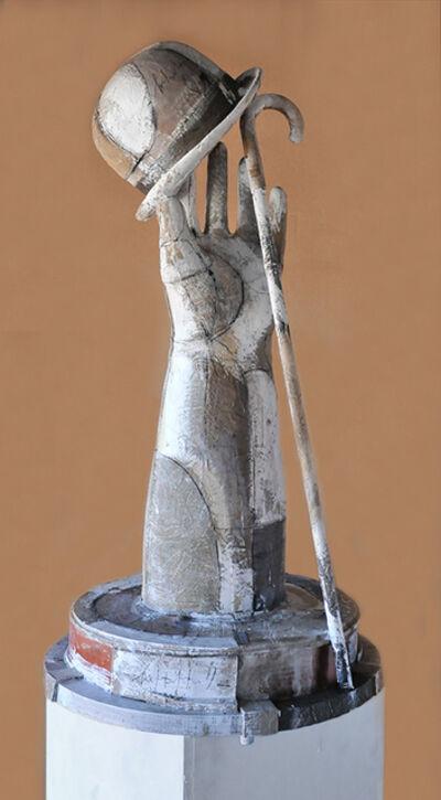 Shimon Okshteyn, 'Hand, Hat, Cane', 1999