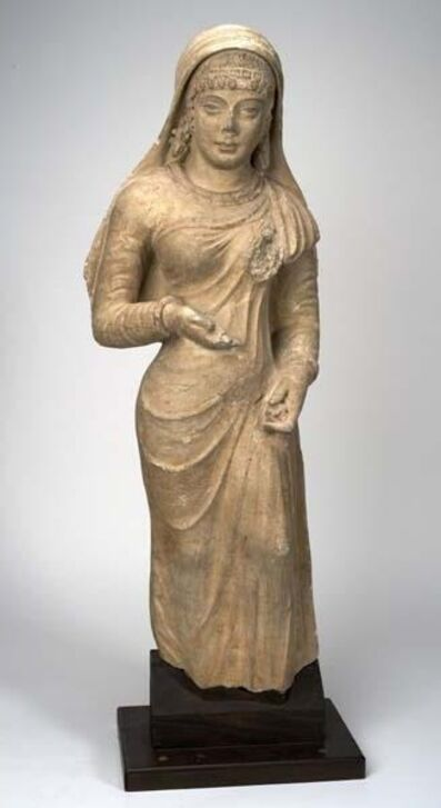 Unknown Artist, 'Standing Woman with headdress', Kushan Dynasty, 3rd, 5th century C.E.