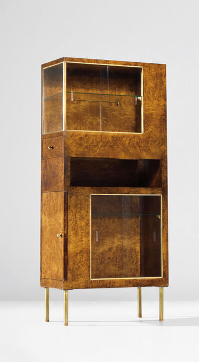 Pietro Lingeri, 'Rare cabinet, designed for the 'Sala dei gabinetti di prova' at the IV Monza Triennale', circa 1930