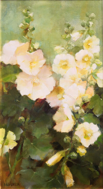 Kathy Anderson, 'White Hollyhocks', 2019