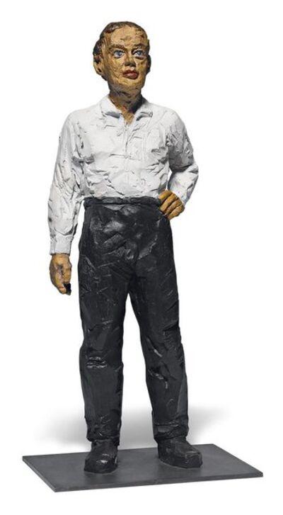 Stephan Balkenhol, 'Mann mit weissem Hemd', 2007