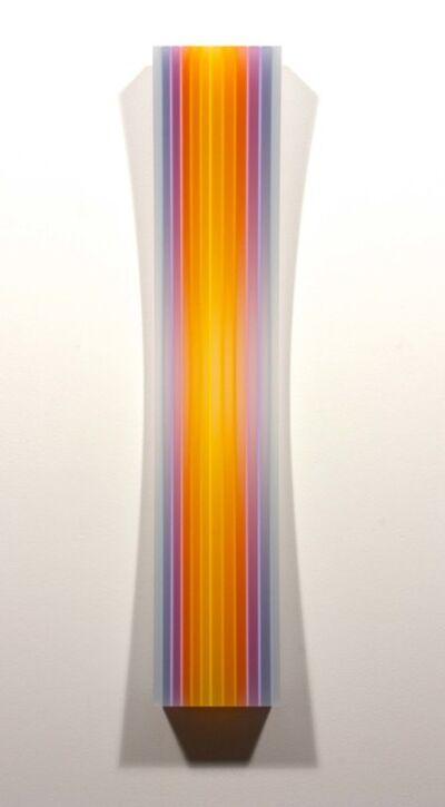 Eric Zammitt, 'YELLOWMAGENTA STRIPE CONCAVE ', 2014
