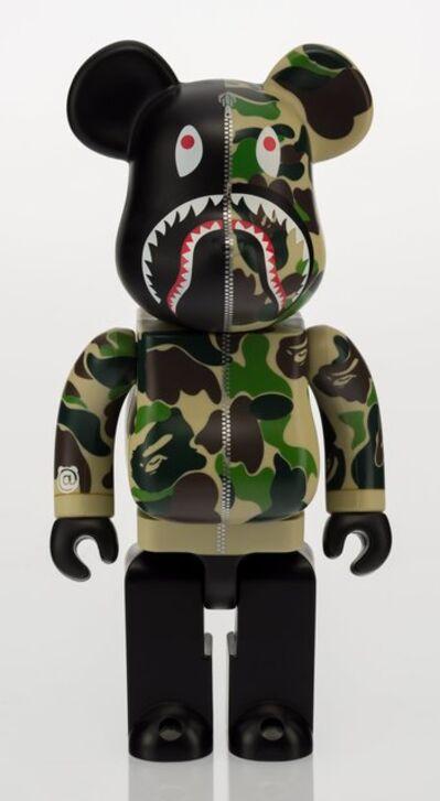 BE@RBRICK, 'Shark Hoodie Be@rbrick 400% (Green)', 2015