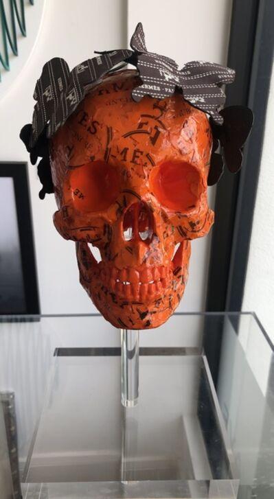 Stephen Wilson, 'Sac Skull (Hermes)', 2019