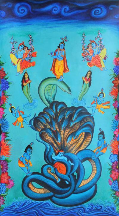Kanchan Chander, 'Kaliya Krishna', 2020